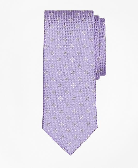 Textured Four-Petal Flower Tie