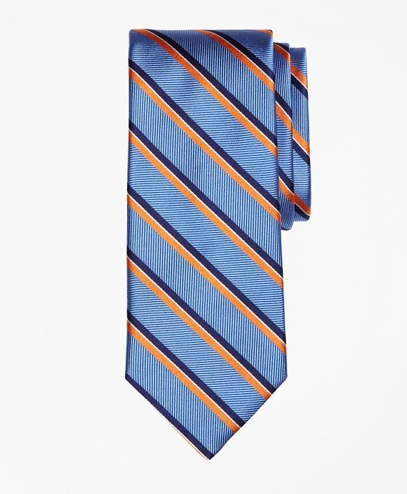 Exploded Herringbone Stripe Tie