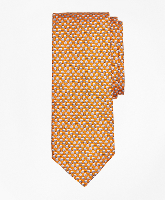 Panama Hat Print Tie