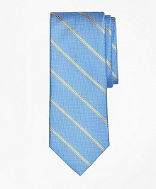 Spaced Framed Stripe Tie