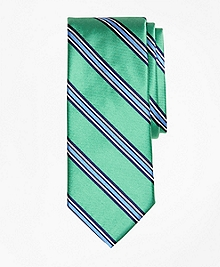Double-Framed Stripe Tie
