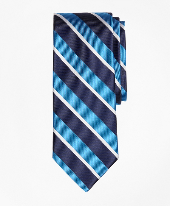 Tonal Sidewheeler Stripe Tie