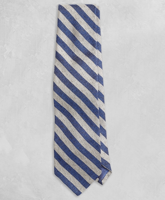 Golden Fleece® Guard Stripe Tie Blue-Tan