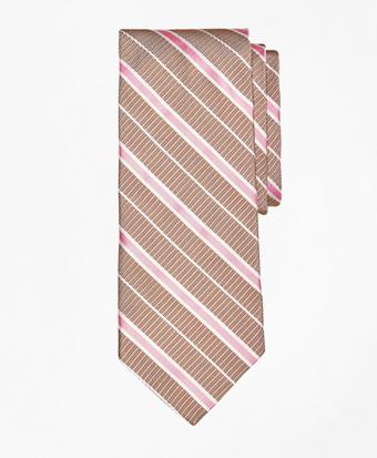 Textured Ground BB#2 Stripe with Pinstripe Tie