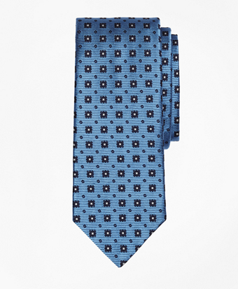 Flower and Square Tie