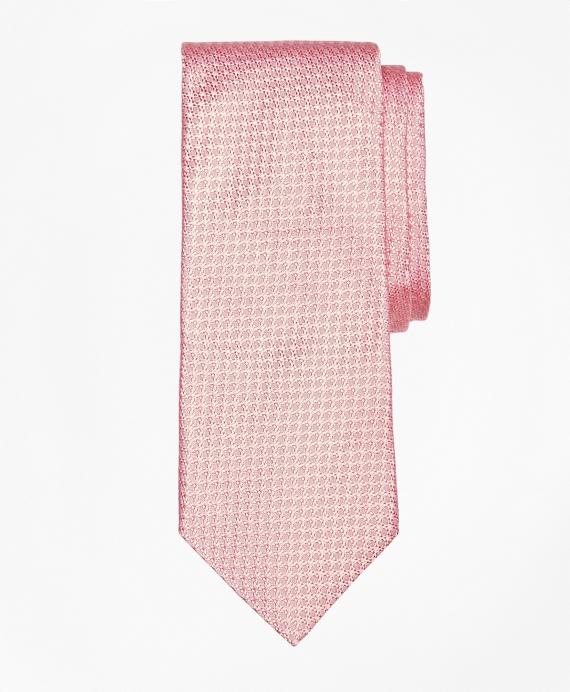 Textured Solid Tie Pink
