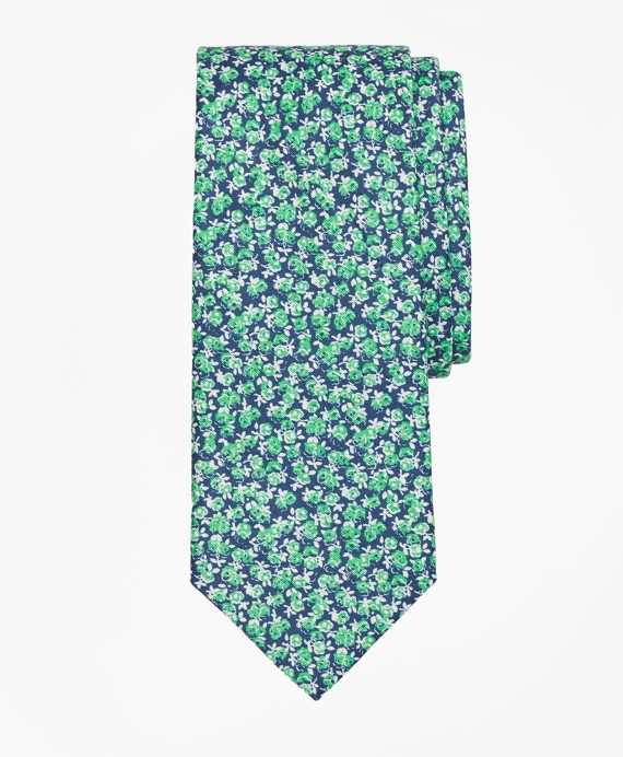 Mini Rose Print Tie
