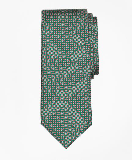 Watermelon Motif Print Tie