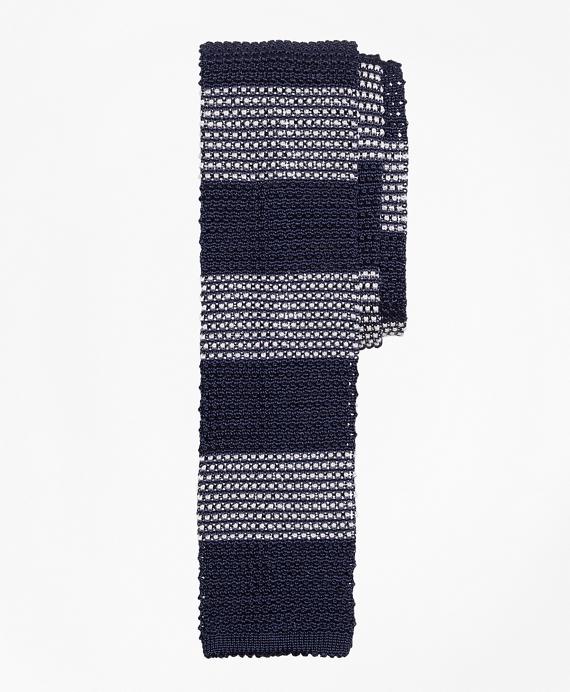 Knit Stripe Tie