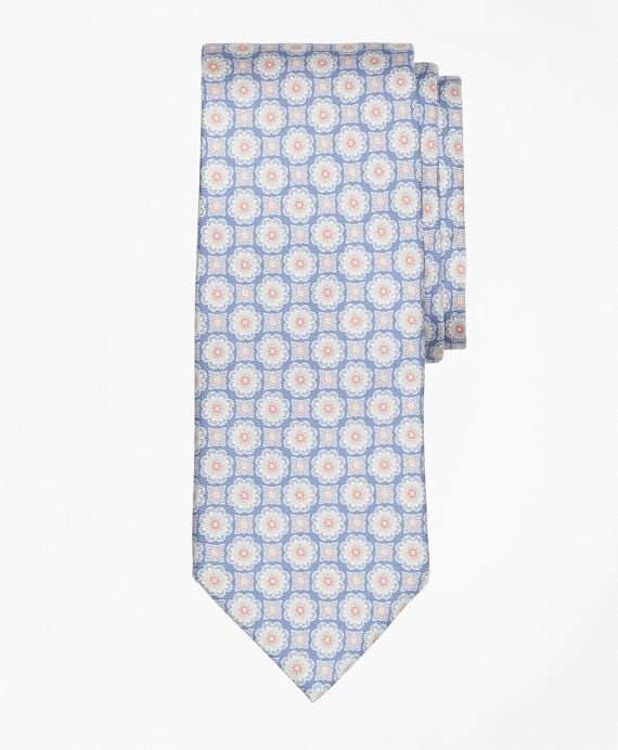 Ancient Madder Print Tie Blue