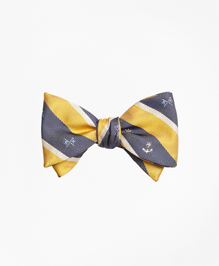 Nautical Stripe Bow Tie