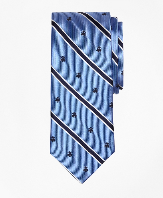 BB#2 Rep Stripe Tie with Golden Fleece®
