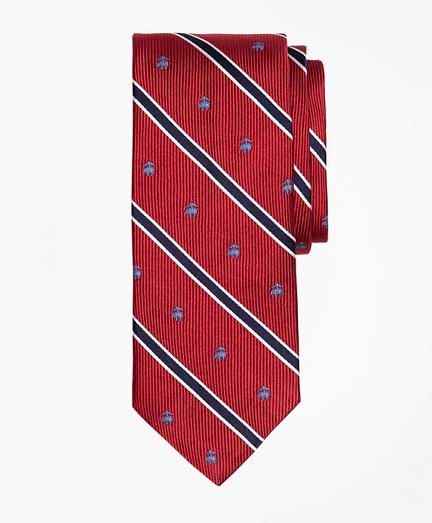 BB#2 Rep Stripe Tie with Golden Fleece®