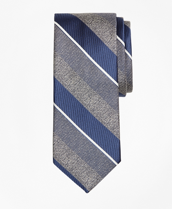 Multi-Weave Triple Stripe Tie