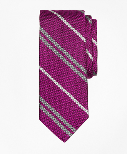 Alternating Double Stripe Tie