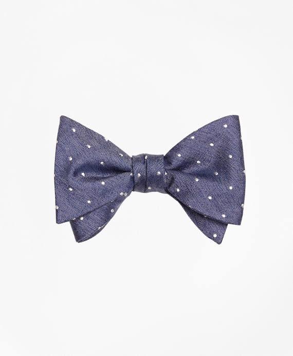 Heathered Dot Bow Tie