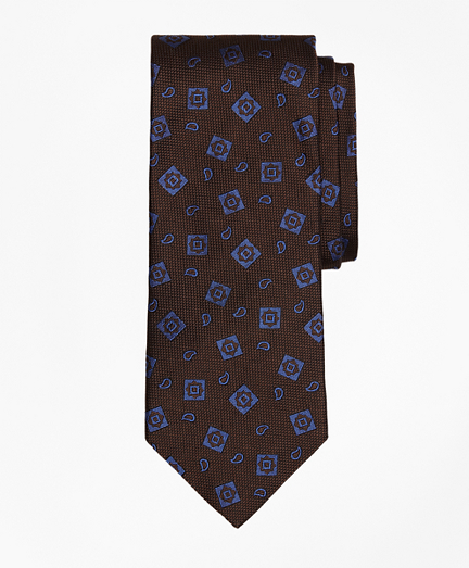 Tossed Alternating Medallion Tie