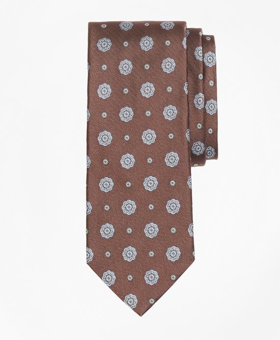 Spaced Medallion Tie