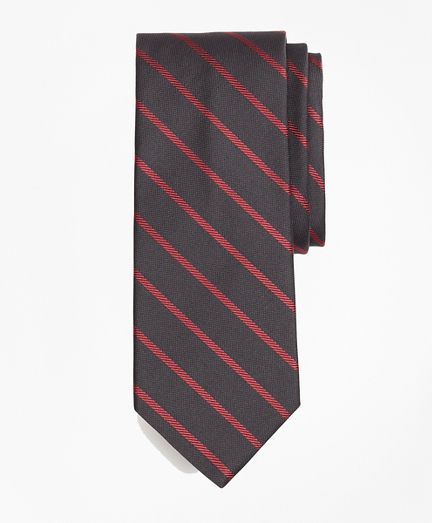 Twill Stripe Tie
