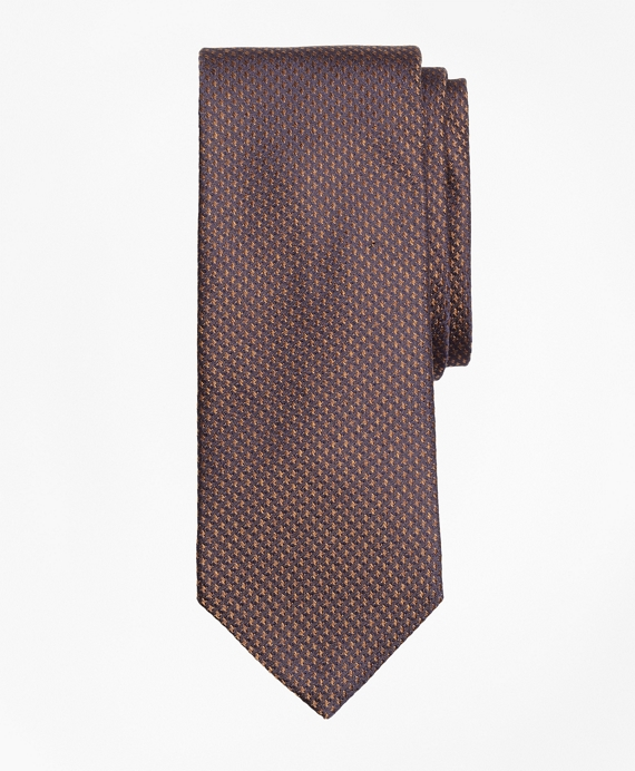 Houndstooth Tie Brown
