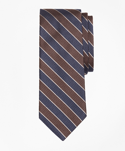 Herringbone Framed Stripe Tie