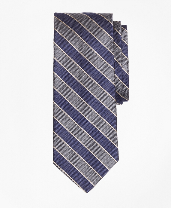 Herringbone Framed Stripe Tie