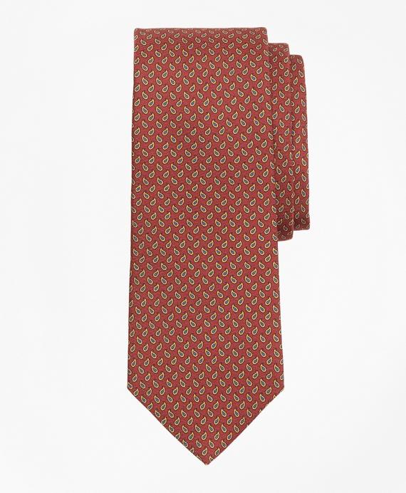 Micro-Pine Print Tie