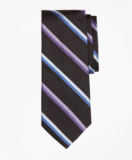 Alternating Sidewheeler Stripe Tie