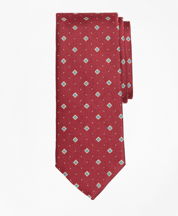 Diamond and Dot Tie