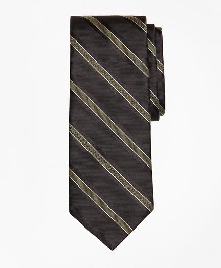 Alternating Textured Stripe Tie