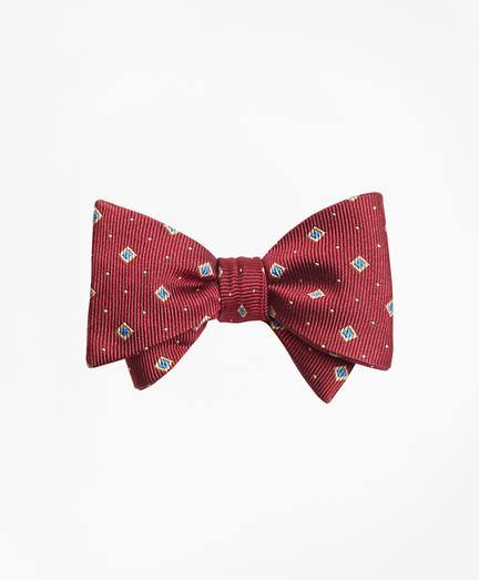 Diamond and Dot Bow Tie