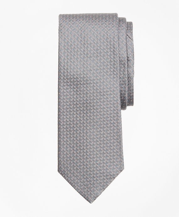 Micro-Dot Tie Grey