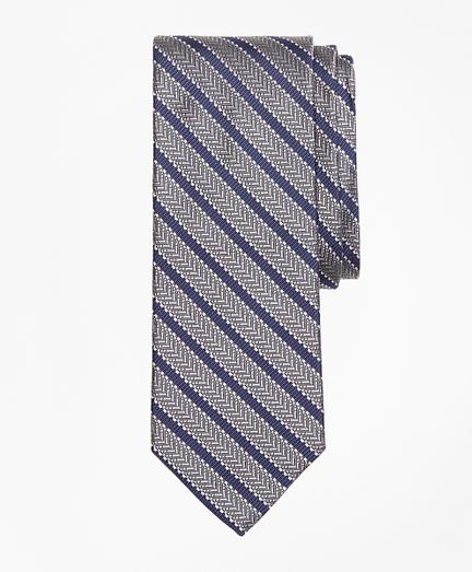 Dot Framed Stripe Tie