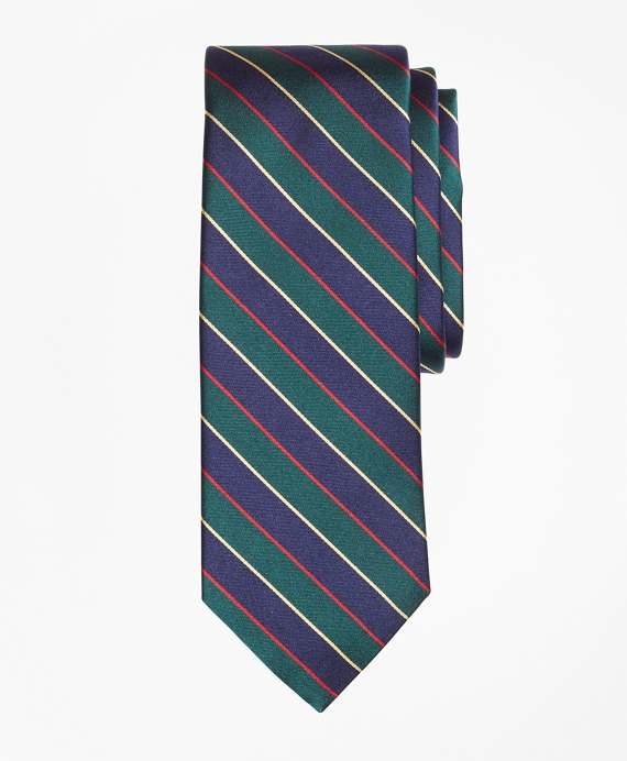 Argyll and Sutherland Stripe 200th Anniversary Limited-Edition Tie Green