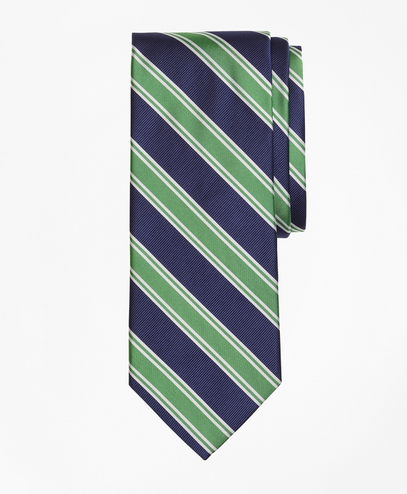 Double Framed Stripe Tie