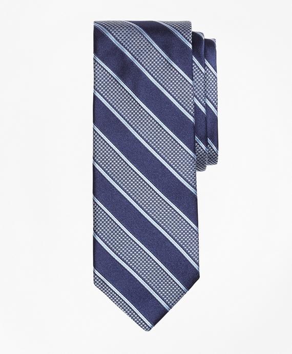 Houndstooth Stripe Tie