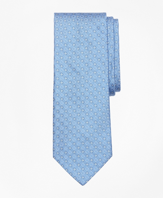 Dotted Flower and Diamond Tie