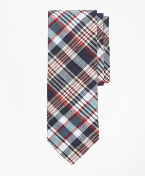 Madras Tie Navy