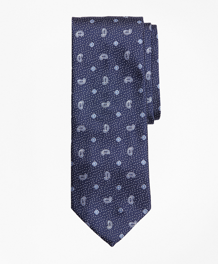 Dot and Pine Tie