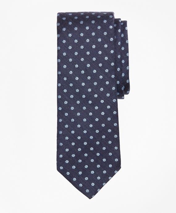 Mini-Flower Tie Navy