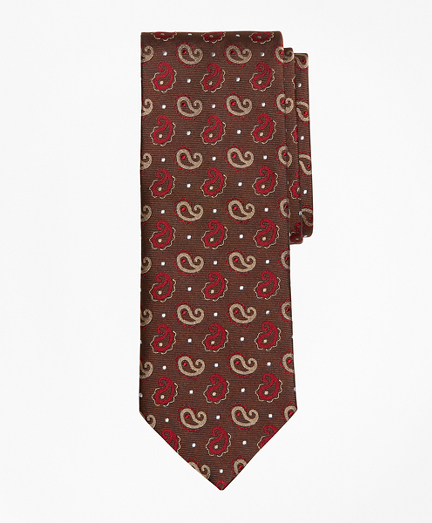 Pine and Dot Tie