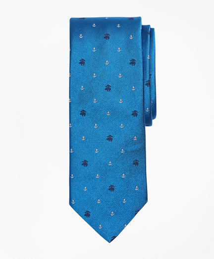 Fleece and Anchor Tie