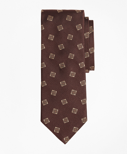 Limited Edition Archival Collection Geometric Silk Jacquard Tie