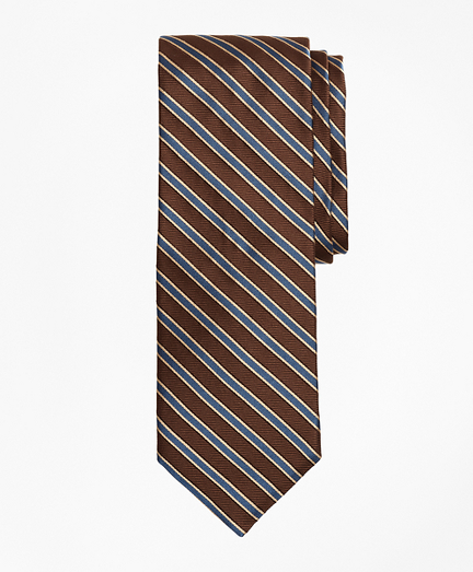Limited Edition Archival Collection Striped Rep Silk Tie