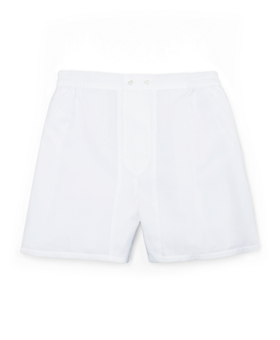 Luxury Boxers White