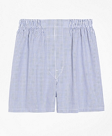 Slim Fit Small Check Boxers