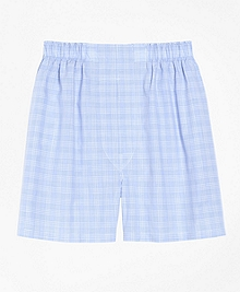 Slim Fit Glen Plaid Boxers