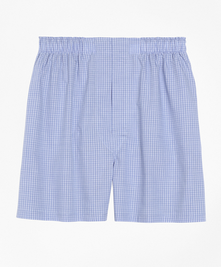 Slim Fit Mini Check Boxers