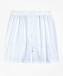 Slim Fit Windowpane Boxers