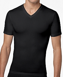 Spanx® Cotton Compression V-Neck